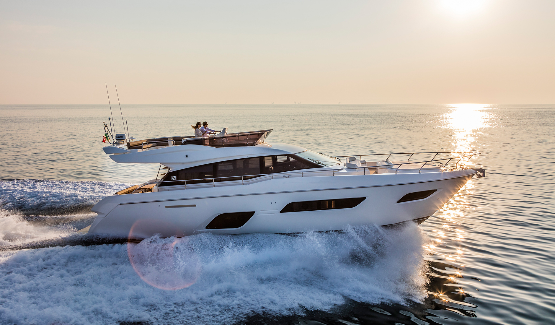 Купить Ferretti Yachts 550