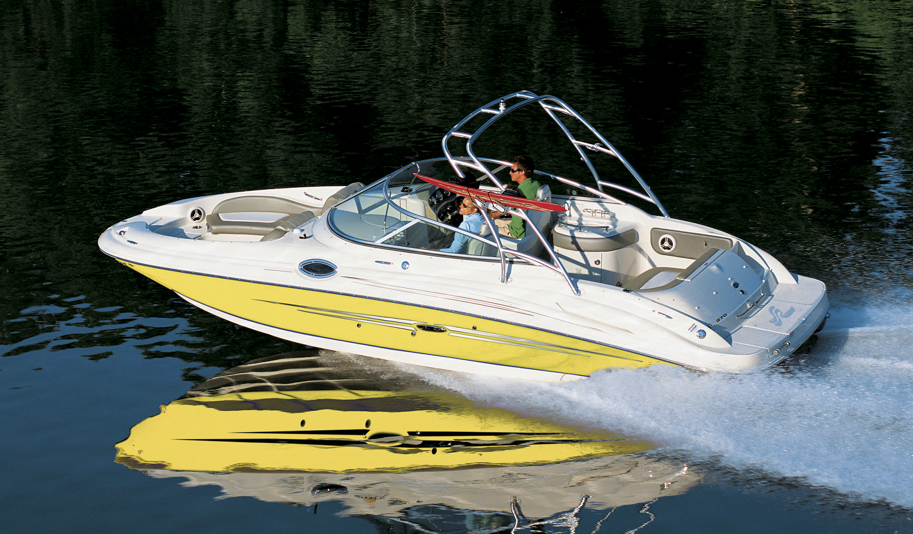 Купить Sea Ray 270 Sundeck