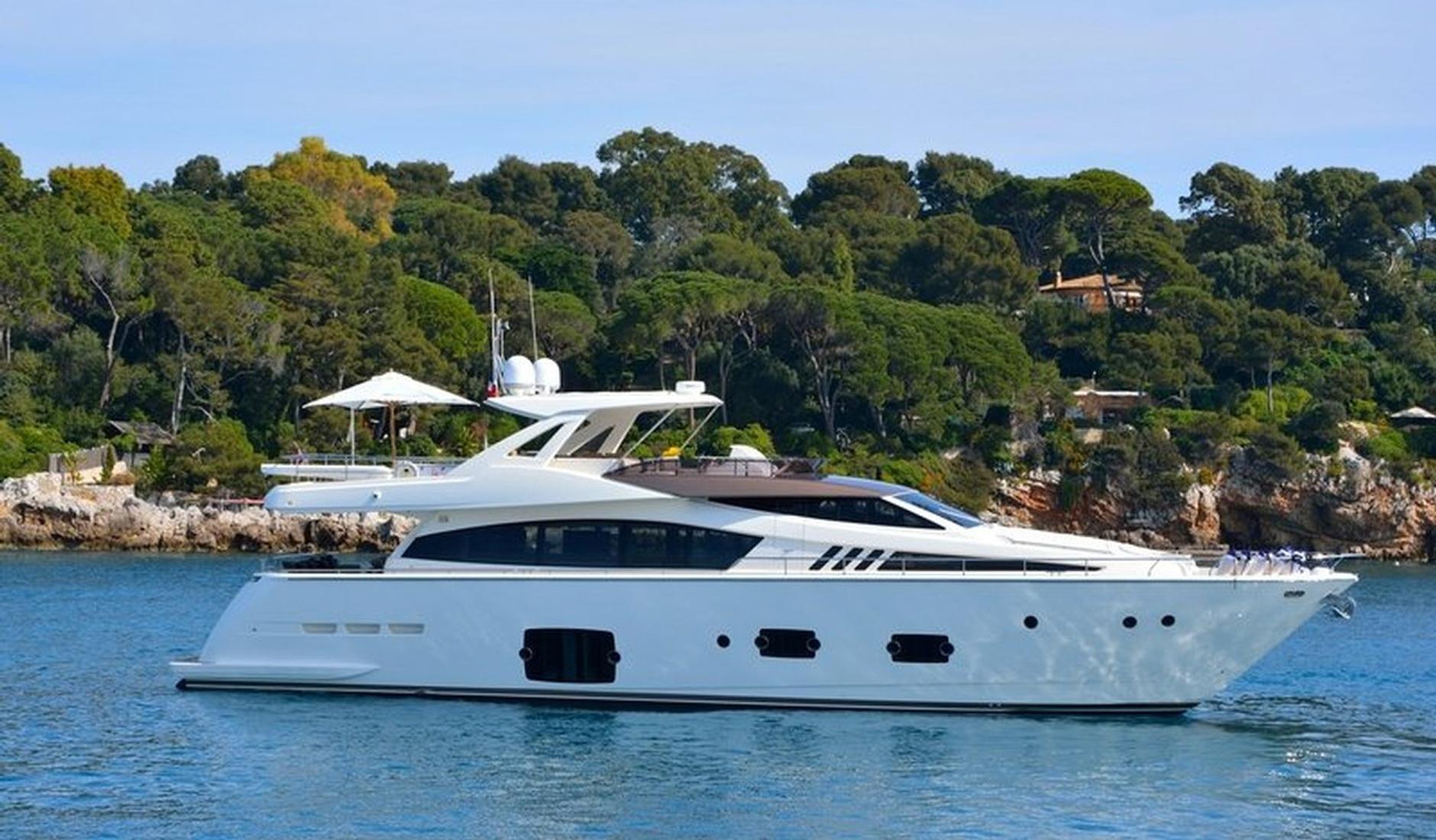 Купить Ferretti Yachts 800