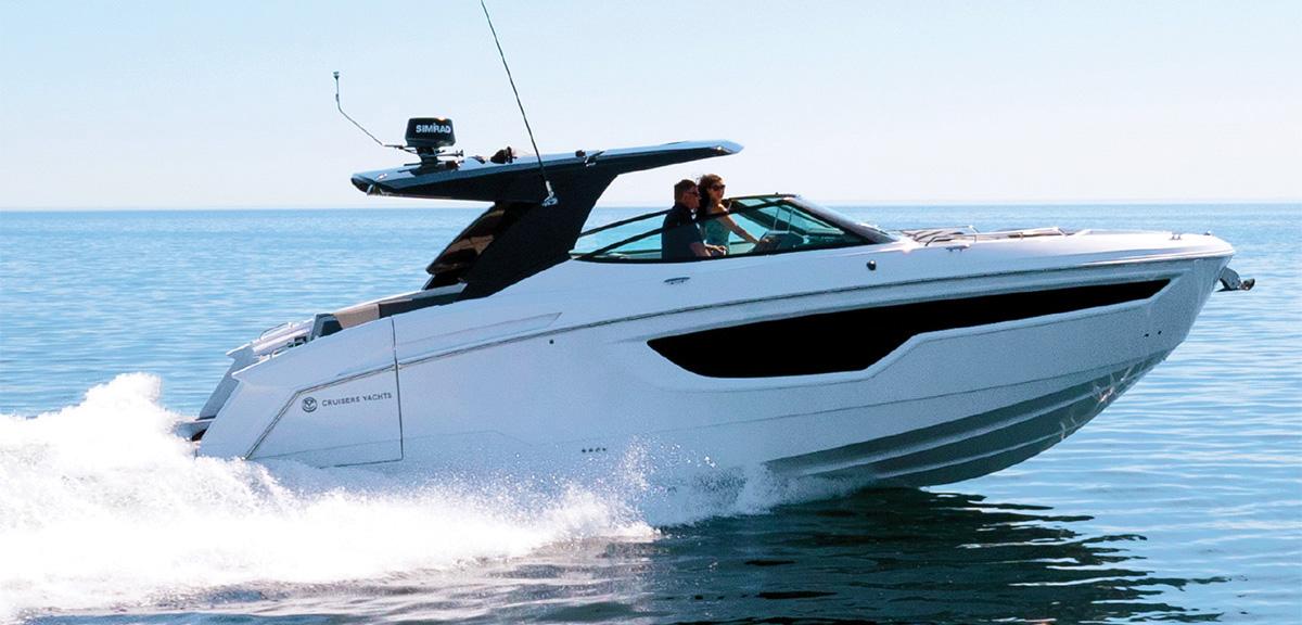 Американская верфь Cruisers Yachts представила новый круизер