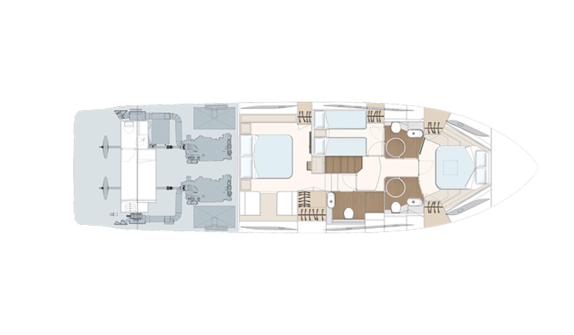 Ferretti Yachts 550 Фото № 5