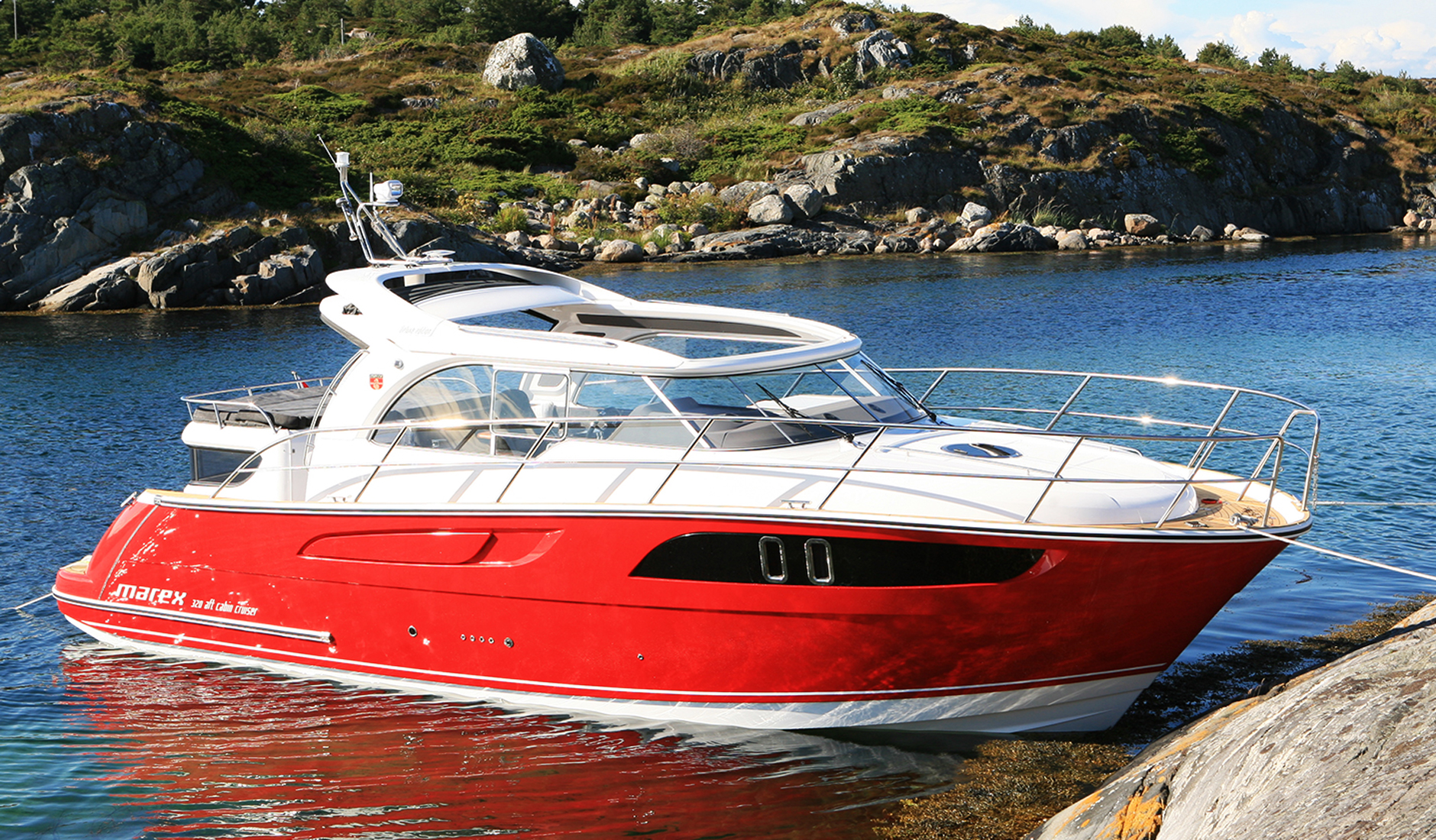 Marex 320 Aft Cabin Cruiser Фото № 13