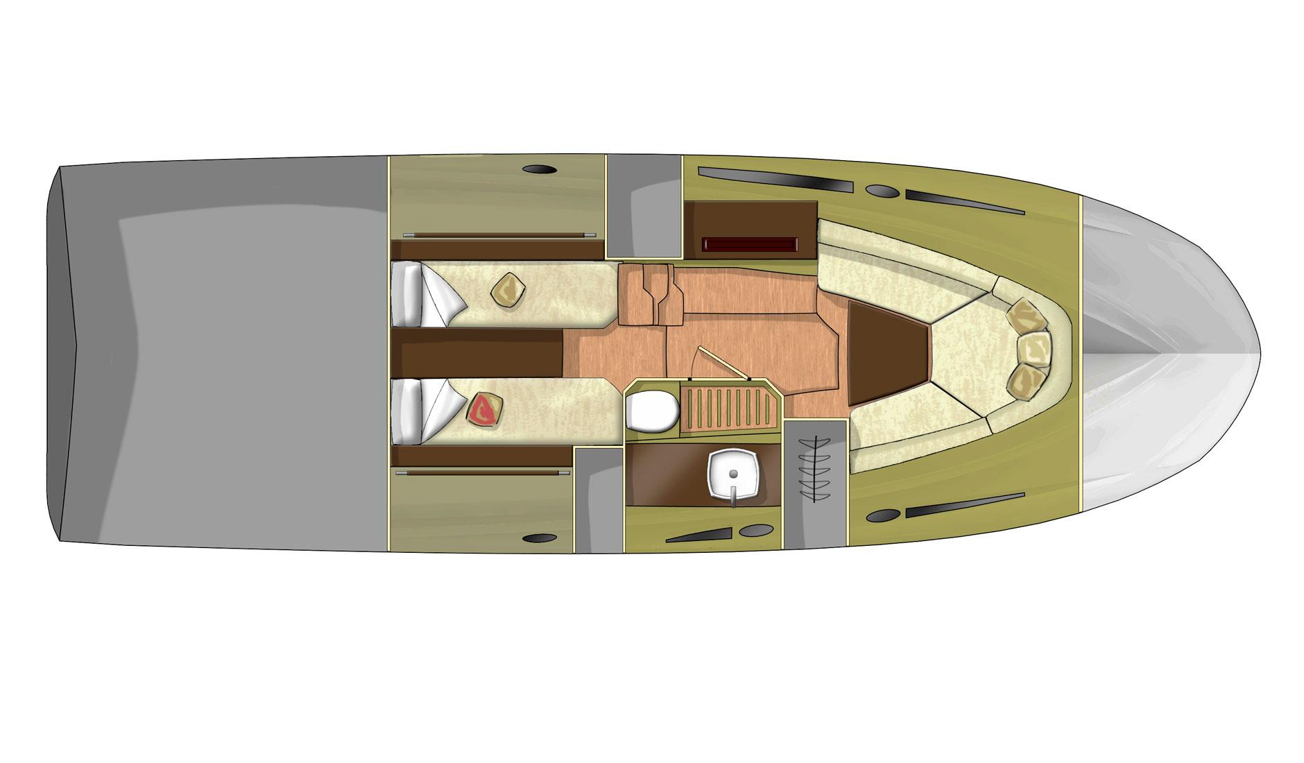 Sessa Marine Key Largo 34 Outboard Фото № 2