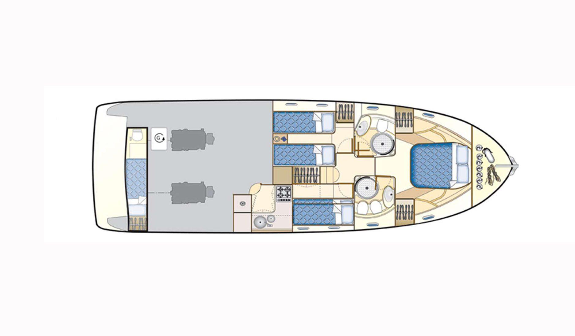 Ferretti Yachts 430 refit 2017 Фото № 3