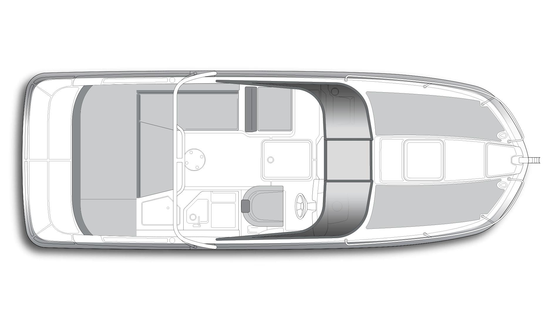 Купить Bayliner Cuddy VR6 новый в наличии