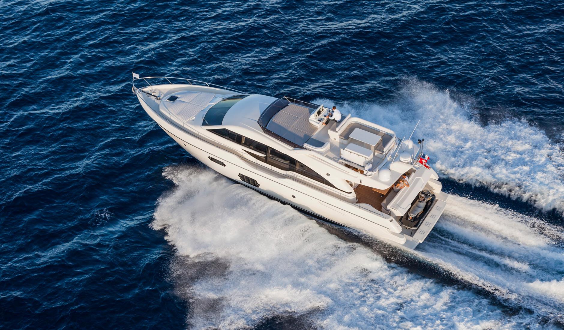 Ferretti Yachts 690 Фото № 4