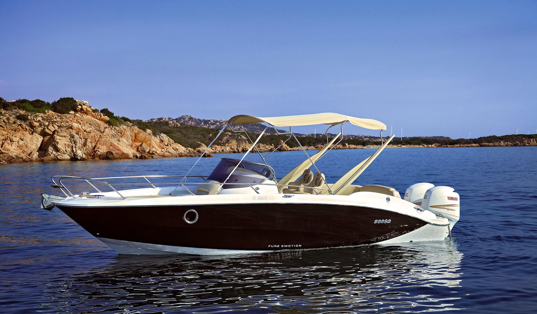 Sessa Marine Key Largo 27 Outboard Фото № 5