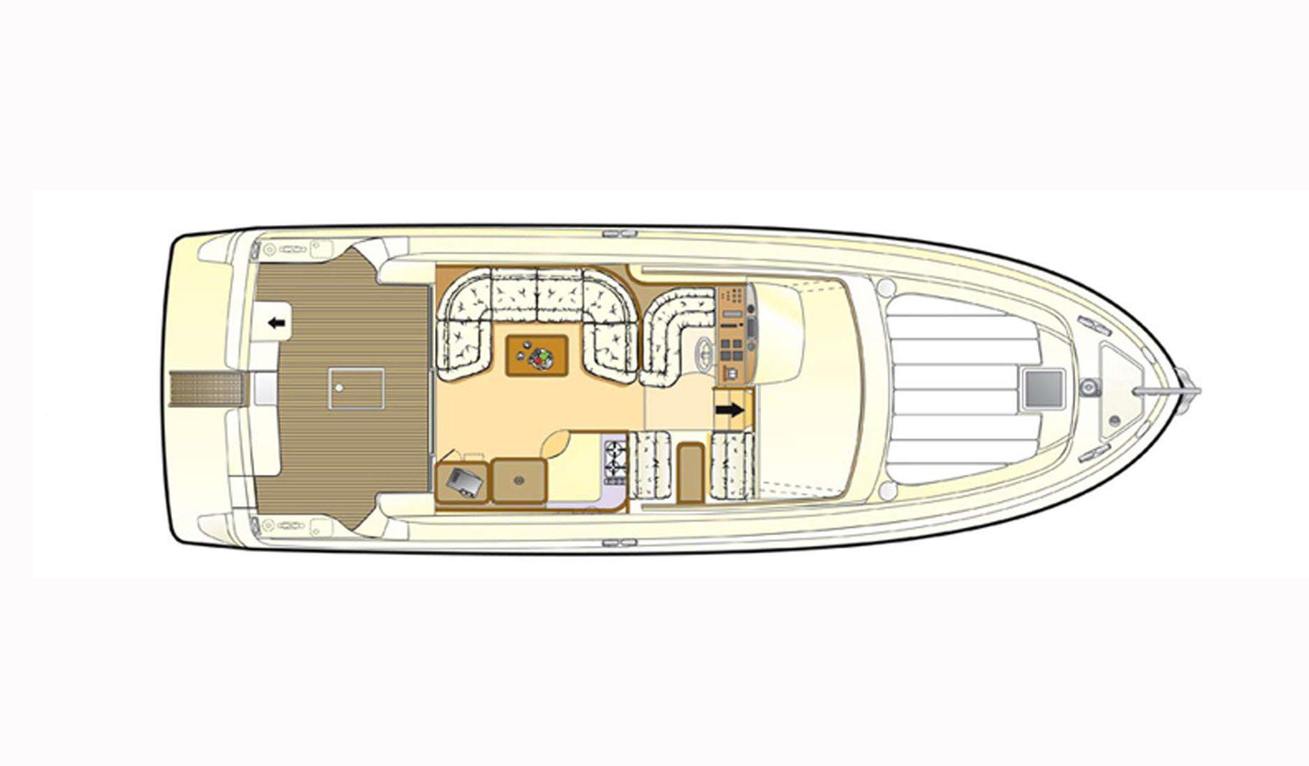Ferretti Yachts 430 refit 2017 Фото № 2