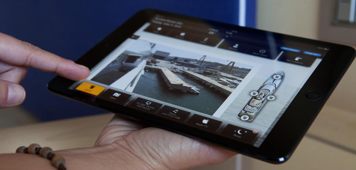 Как интернет вещей делает управление яхтой проще и удобнее