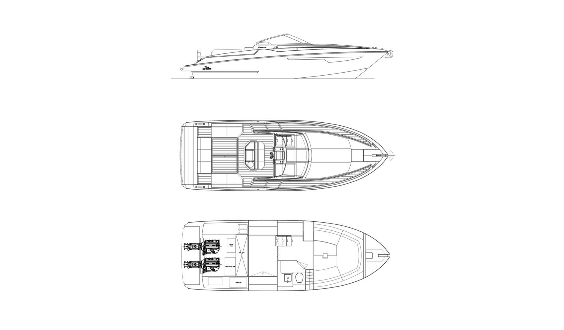 Купить Rio Yachts Espera 34