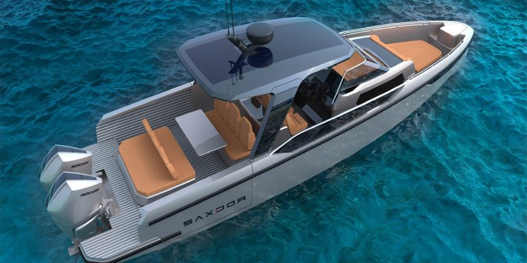 Saxdor Yachts 320 GTO: новинка финской верфи