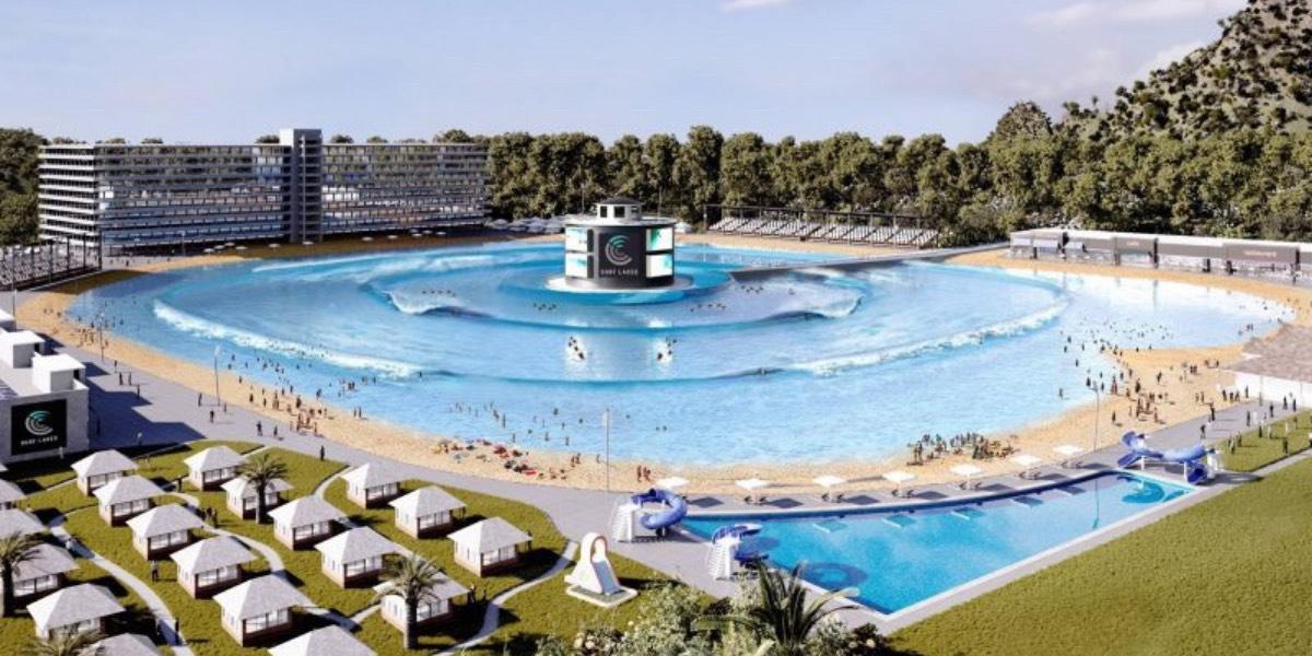 Бассейн в Австралии генерирует 5 различных типов волн для серферов